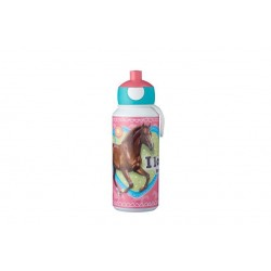 Campus Drinkfles pop-up 400ml My Horse