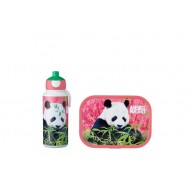 Campus Set pop-up drinkfles en lunchbox Animal Planet Panda