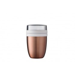 isoleer lunchpot ellipse - rose gold  Mepal