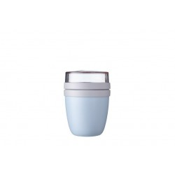 lunchpot ellipse mini - nordic blue  Mepal