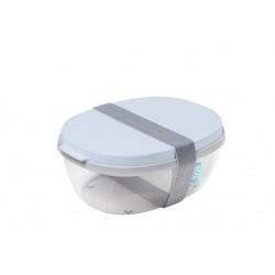 saladbox ellipse - nordic blue  Mepal