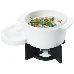 CHEESEBAKER OVENPOT WIT 400ML-HOUDER