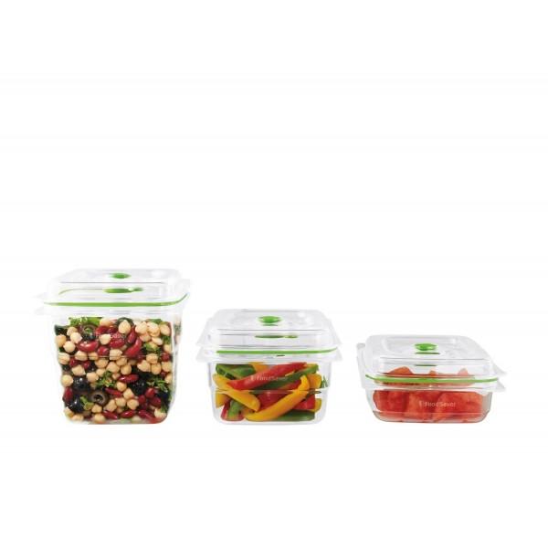 FRESH vershouddozenset 0,7 / 1,2 / 1,8 liter FoodSaver