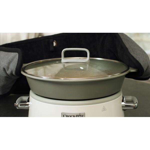 Duraceramic Sauté Slow Cooker wit 6L  Crock-Pot