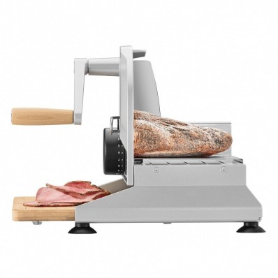 Piatto 5 handsnijmachine met houten plank