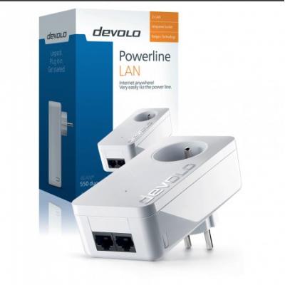 dLAN 550 Duo+ Powerline Devolo