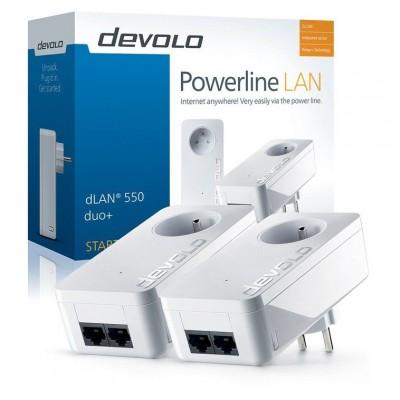 dLAN 550 Duo+ Powerline Starter Kit Devolo