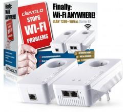 dLAN 1200+ WiFi ac Powerline Starter Kit Devolo