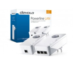 dLAN 1200 triple+ Starter Kit Powerline Devolo