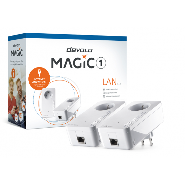 Devolo Powerline adapter Magic 1 LAN Starter Kit