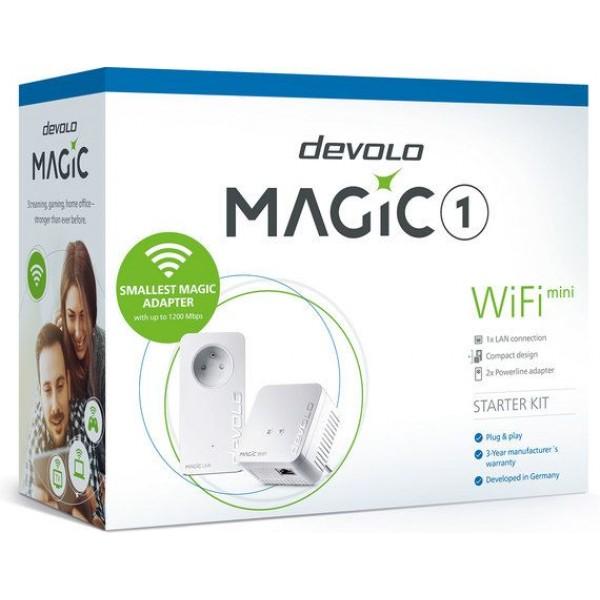 Devolo Powerline adapter Magic 1 Wi-Fi mini starters kit - DEV-8565
