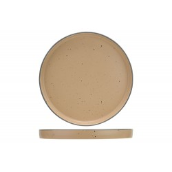 COPENHAGUE DARK SAND PLAT BORD D25CM