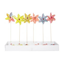 WINDMOLEN COLOR BLOEMEN D9CM L26CM SET12