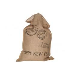 ZAK HAPPY NEW YEAR BEIGE 48X78CM JUTE