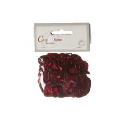 STROOIDECO DOUBLE HARTJES ROOD 3CM 15G  Cosy @ Home
