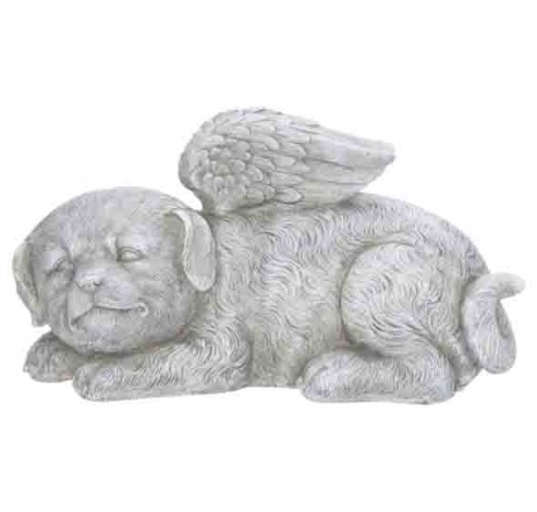 HOND WINGS GRIJS 22X11,5XH13CM POL  Cosy @ Home