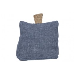 DEURSTOP BLAUW 18X18XH12CM POLYESTER  Cosy @ Home