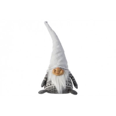 DEURSTOP GNOME GRIJS 24X18XH44CM  Cosy @ Home