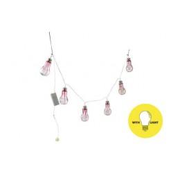LICHTSLINGER 6 LAMPS 110X6XH12CM KUNSTST  Cosy @ Home
