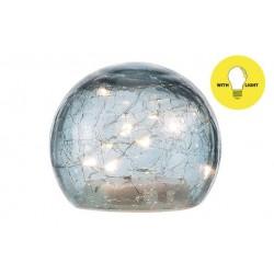 BAL LED LAMP BLAUW D10XH9CM GLAS Cosy @ Home