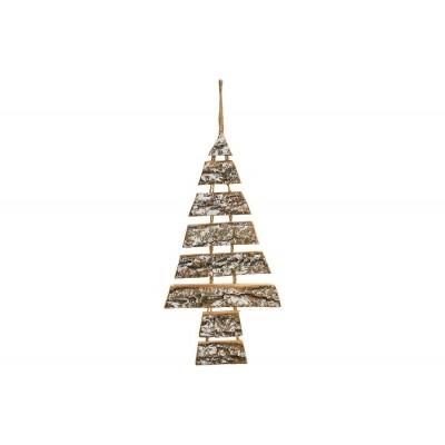 HANGER CHRISTMAS TREE SNOWY NATUUR 26X2X  Cosy @ Home