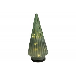 KERSTBOOM FROSTED GROEN 12,3X12,3XH28CM