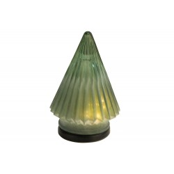KERSTBOOM FROSTED GROEN 11,7X11,7XH16CM
