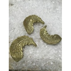 STROOIDECO SET10 FEATHER ZILVER 3,5X2CM  Cosy @ Home