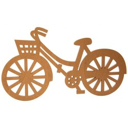 VELO FIETS BRASS 30X,5XH18CM HOUT  Cosy @ Home