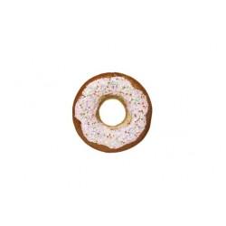 HANGER DONUT PINK GLITTER BRUIN 13X13XH4