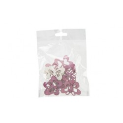 STROOIDECO SET24 BUTTERFLIES MIX ROZE 2X  Cosy @ Home