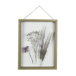 KADER DRIED FLOWERS NATUUR 30X2,5XH39,9C  Cosy @ Home