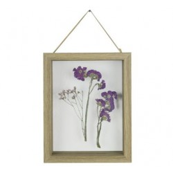 KADER DRIED FLOWERS NATUUR 18X3,5XH22,9C  Cosy @ Home