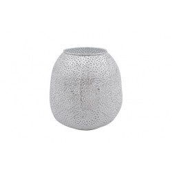 LANTAARN PERFORATED WIT 18,5X18,5XH18,2C  Cosy @ Home