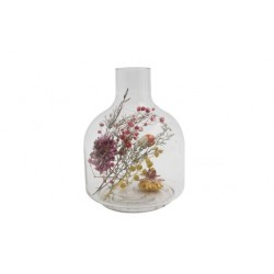 VAAS DRIED FLOWERS MULTI-KLEUR 11,5X11,5  Cosy @ Home