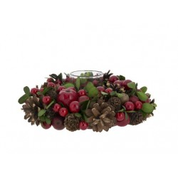 THEELICHTHOUDER RED FRUIT MIX GROEN D19X
