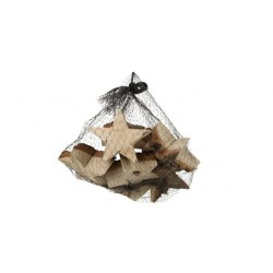 STROOIDECO NATUUR 16X16XH16CM STER HOUT  Cosy @ Home
