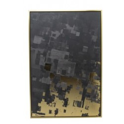 CANVAS CUBE GOLD ZWART 60X4,5XH90CM  Cosy @ Home