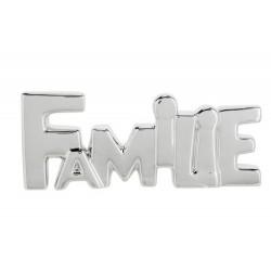 LETTERDECO FAMILIE SOFT METALLIC ZILVER  Cosy @ Home