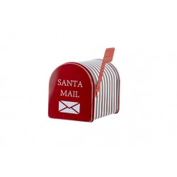 BRIEVENBUS BOX SANTA MAIL ROOD 13,3X8XH9