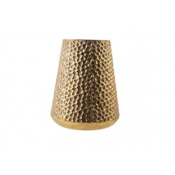 WINDLICHT HAMMERED GOUD 25X25XH31,5CM ME  Cosy @ Home