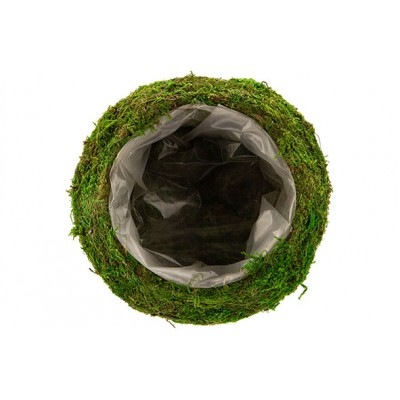 MAND RATTAN-GRASS  NATUUR 20X20XH8CM ROND  Cosy @ Home
