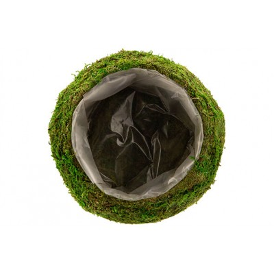 MAND RATTAN-GRASS  NATUUR 25X25XH9CM ROND  Cosy @ Home