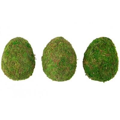 BAL SET3 11CM GRASS GROEN 24X11XH8CM  Cosy @ Home