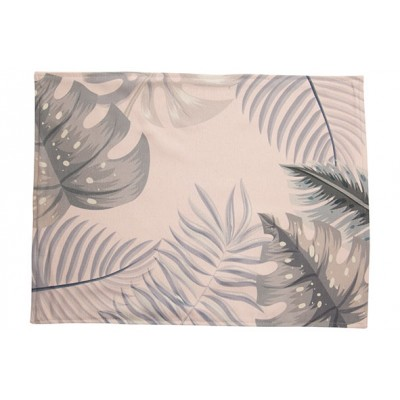 PLACEMAT LEAVES GROEN 33X44CM
