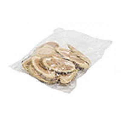 STROOIDECO WOOD SLICES BAG 100GR NATUUR10X10XH5CM OVAAL HOUT  Cosy @ Home
