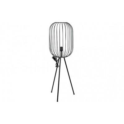 LAMP ZWART 30X30XH100CM METAAL  Cosy @ Home