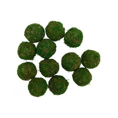 BAL SET12 5CM GRASS GROEN 20X15XH5CM