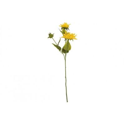 Tak 3x Sunflower Geel 60cm Kunststof  Cosy @ Home