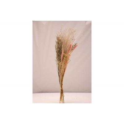 Boeket Dried Flowers Roze 27x13xh60cm  Cosy @ Home